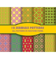 seamless pattern Abstract stylish vector image vector image