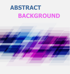 Abstract blue and pink geometric overlapping vector