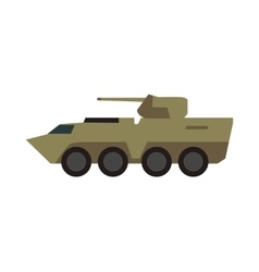 Armored personnel carrier vector