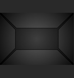 Black tech geometric concept abstract background vector