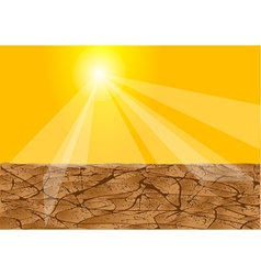 Drought africa vector