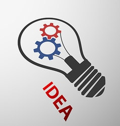 Light bulb Stock vector image
