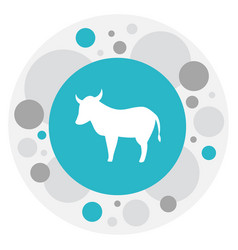 of zoo symbol on kine icon vector image
