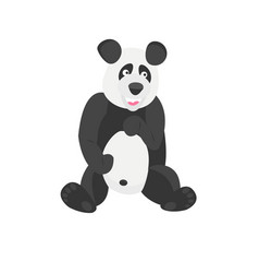 Panda chinese bear good animal vector