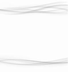 Soft swoosh greyscale gradient waves modern vector