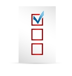 Template ballot paper vector