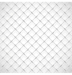 Football goal net vector image