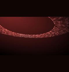 Image ufo light beam aliens futuristic vector