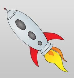 Spaceship Cartoon vector image