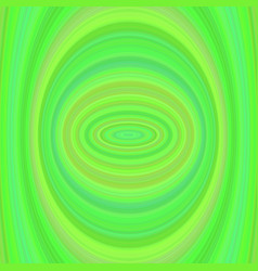 Green abstract ellipse background vector