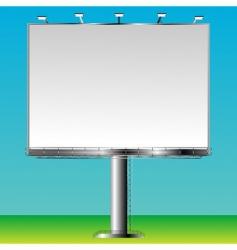 grand billboard vector image