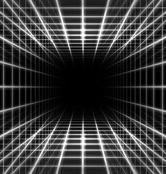 Dimensional grid space vector image vector image