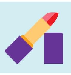 Lipstick icon vector image vector image