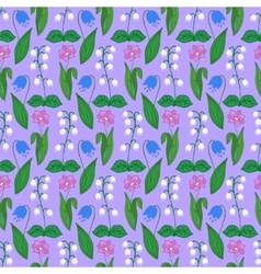 Seamless pattern with valleys vector image