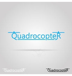 With word quadrocopter vector