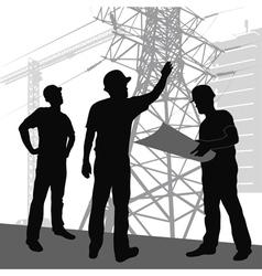 workers vector image