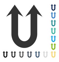Double forward arrow icon vector