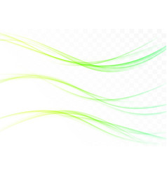 three fresh abstract modernistic spring web vector image vector image