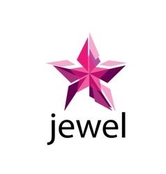 Logo jewel vector