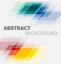 Abstract colourful geometric overlapping vector