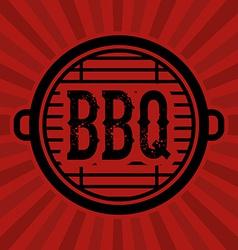Bbq design vector