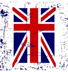 British flag t shirt typography graphic vector image vector image
