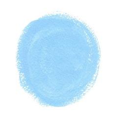 Cyan acrylic paint circle vector
