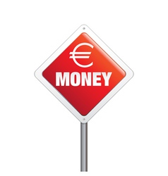 Euro Money Sign vector image vector image