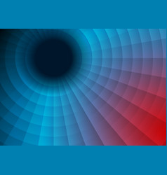 Red and blue technology swirl circle background vector