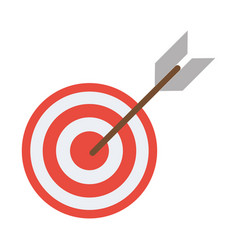 Target arrow strategy market vector