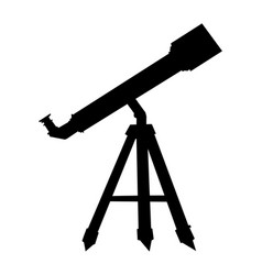 Telescope for watching sky vector
