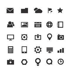 Web pictograms vector