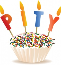 pity cake vector image