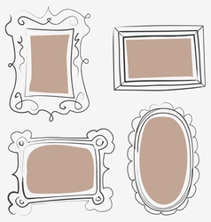 Art frames vector