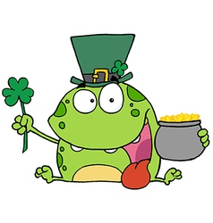Leprechaun Frog vector image