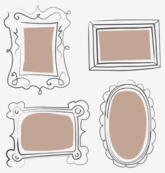 art frames vector image