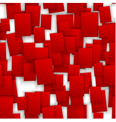 seamless red paper note backgroun vector image vector image
