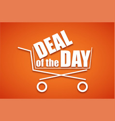 shopping cart icon symbol purchases and sales on vector image