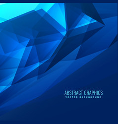 Abstract blue digital futuristic background design vector