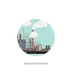 Urbanisation vector image vector image