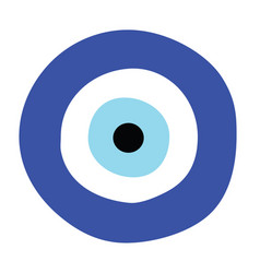 greek evil eye - symbol of protection vector image vector image