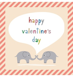 Happy valentine s day card8 vector image vector image