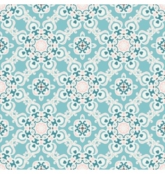 Abstract seamless tiled pattern for fabric vector