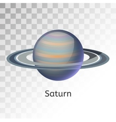 Saturn planet 3d vector