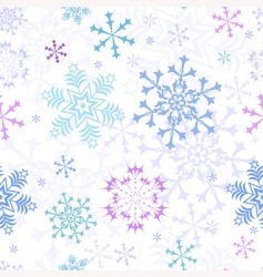 Christmas pastel seamless pattern vector image