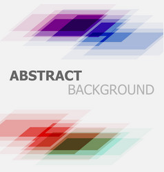 abstract colourful business straight lines vector image