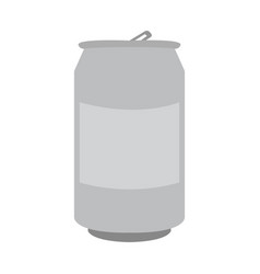 Isolated beer can vector