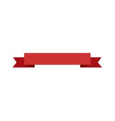 ribbon banner decoration celebration image vector image