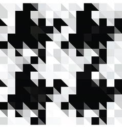 pixels hounds tooth vector image