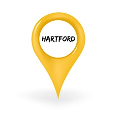 Location hartford vector